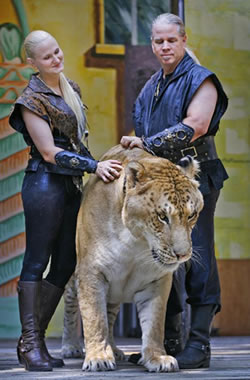 China, Hercules the Liger, Doc Antle